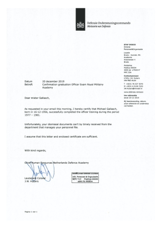 Declaration KMA